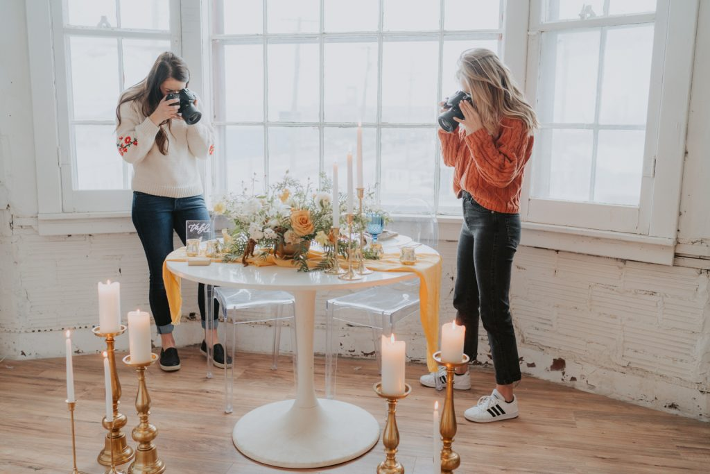 Honey and Bloom Creative branding styled shoot