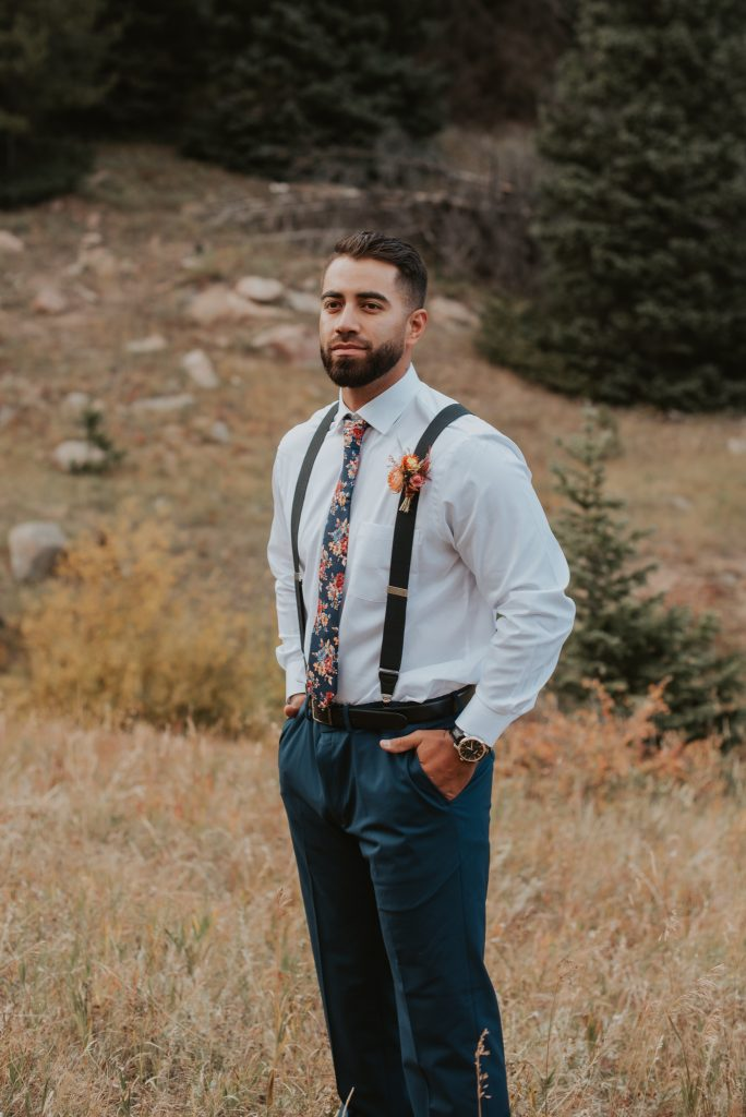 Rocky Mountain National Park elopement styled shoot by Honey&Bloom Creative