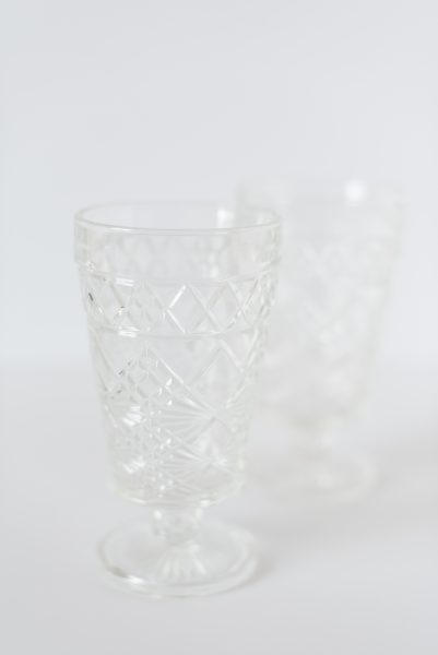 Ice Glass Goblets