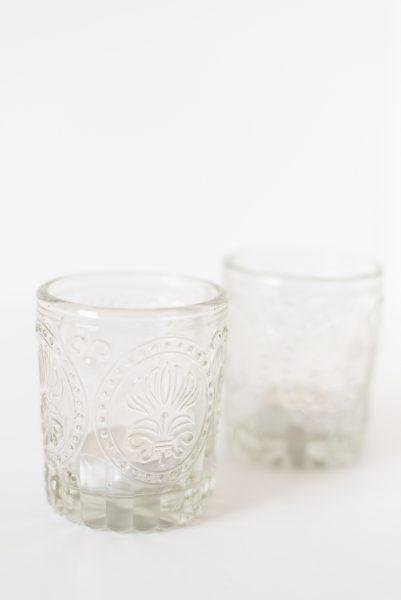 Whitney Clear Glass Votives