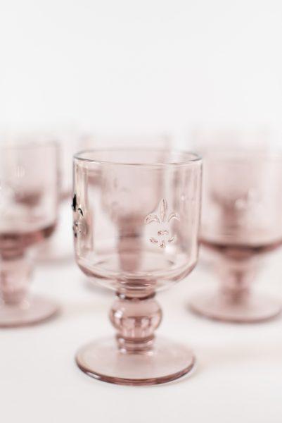 Rosie Pink Goblets